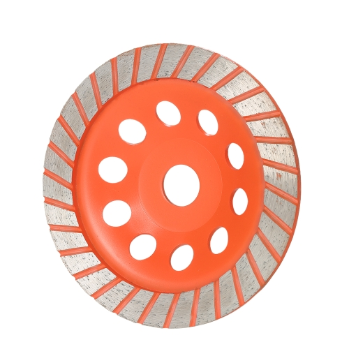 150 мм 6-дюймовый алмазный сегмент шлифовального круга Дисковая чаша Форма шлифовальной чашки 22 мм Внутренняя отвертка для бетона Гранит Каменная кладка Керамика Терраццо Мраморная строительная индустрия