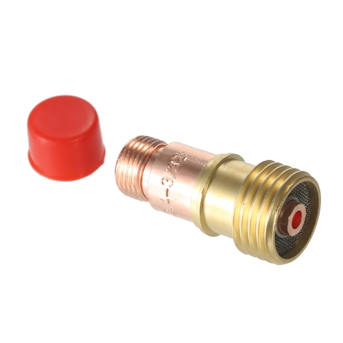 10 pz / set TIG Accessori Torcia per Saldatura Kit Collet Corpo Tazza di Vetro Lens Gas Isolante per TIG WP-17/18/26 Series