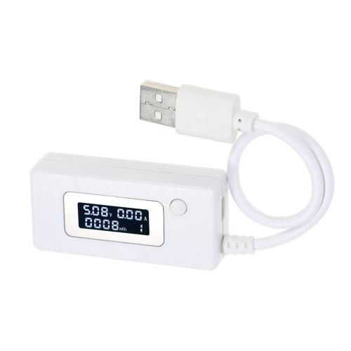 Numérique OLED USB Courant Tension Voltmètre Amètre Chargeur Capacité Testeur pour Téléphone Power Bank DC3-7V 0.05-3.50A