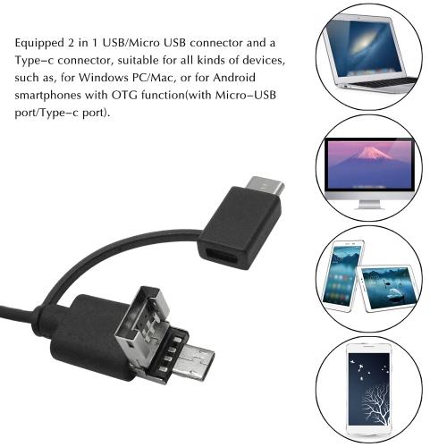 Portable Digital USB Microscope Inspection Magnifier