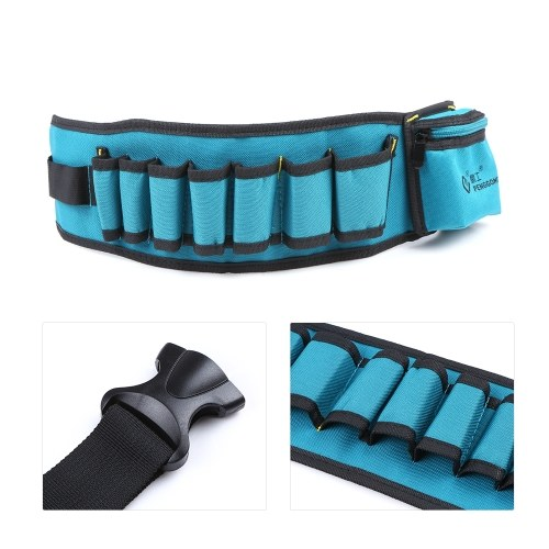 PENGGONG Multi-functional Waist Tool Bag Pockets Pouch Organizer Oxford Canvas Chisel Repairing Tool Pockets with Belt Wearable &