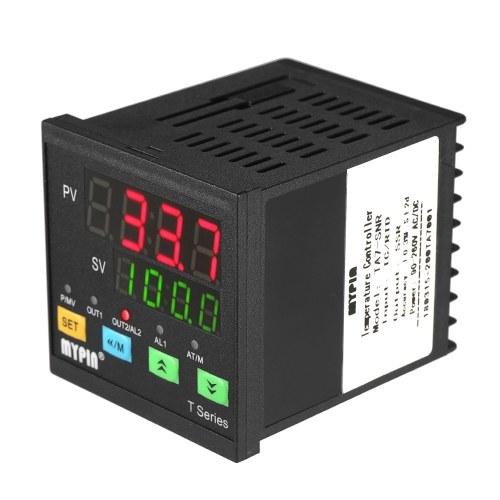 Termometro digitale LED PID automatico Termometro SNR 1 Uscita relè allarme Ingresso TC / RTD