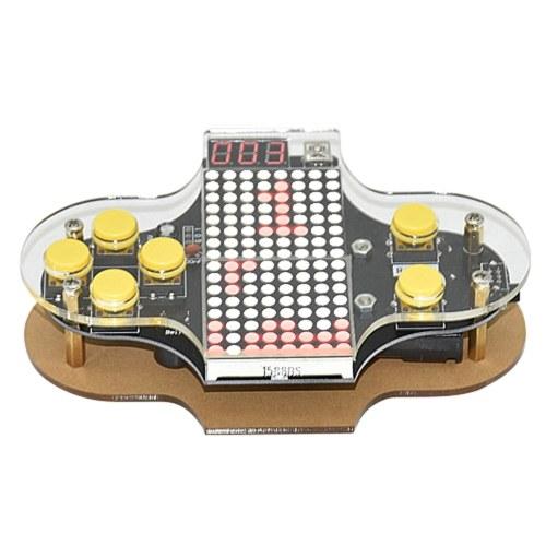 Verbesserte elektronische DIY Spielkonsole Kit V2 Löten Practice Kit mit Open Source