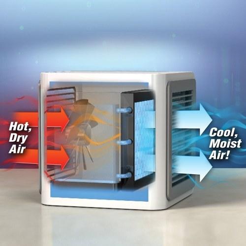 Пластиковый персональный мини-кондиционер вентилятора