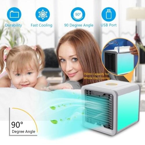Plastic Personal Mini Air Conditioner Fan Cooler