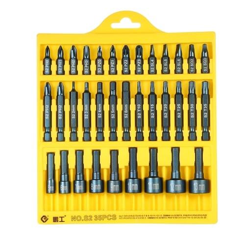 Set di chiavi esagonali PENGGONG 35pcs 25mm / 50mm