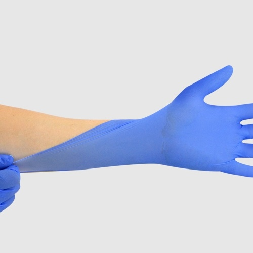 Disposable Nitrile Gloves Safeguard Gloves Convenient Nitrile Gloves Laboratory Inspection Gloves