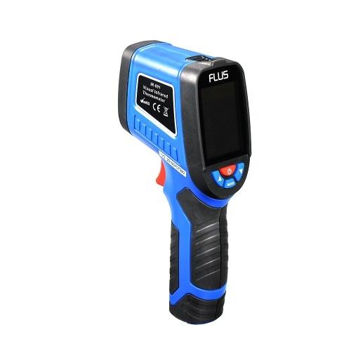 Wärmebildkamera Infrarot-Wärmebildkamera Feuchtigkeitsmessung Handheld-Thermometer 240x320 Bildschirm IR-Auflösung 1089P Visuelle Auflösung 300000P Temperaturbereich 20 ~ 380 ° C / -4 ~ 716 ° F