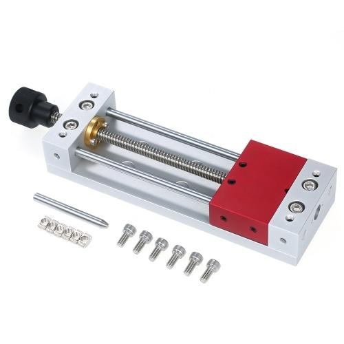 Holzschnitzschraubstock Hochpräzisionsschleifmaschine CNC Mini Modellschraubstock für Flachschleifmaschine Fräsen Tischplattenzangen