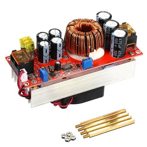 1500 W Boost DC-DC Conversor Controlador Step-Up Converter Regulador Corrente Constante & Modo de Tensão com Temperatura Controlado Ventilador