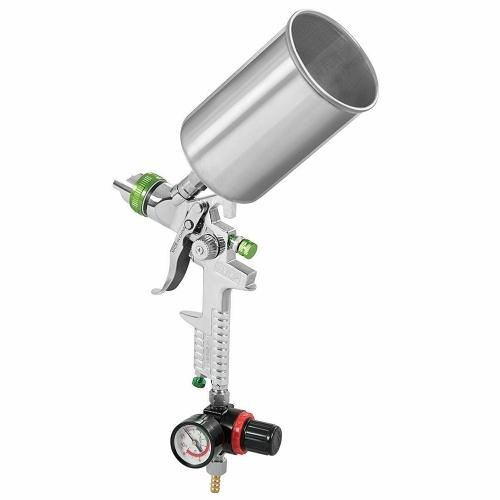 Mini Air Paint Spray Gun 2.5MM Nozzle HVLP Gravity Feed Power Tools