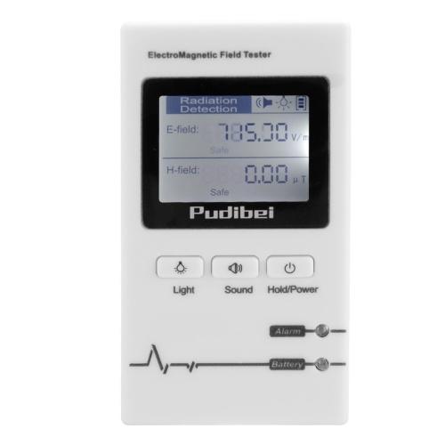 1,5 Zoll Digitalanzeige Mini Tragbare Kleine Handheld Professionelle Elektromagnetische Strahlung Detektor Elektromagnetische Welle Tester Strahlungsüberwachung Instrument