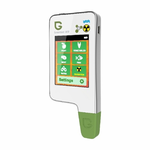 Greentest ECO-5F 3-in-1 Radiation Water Hardness Nitrate Tester Test Dietary Nitrates in Food Fruits Vegetables Meats Fishes