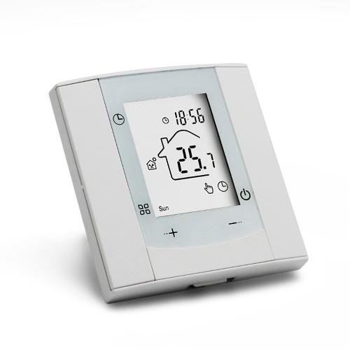 Regolatore di temperatura intelligente Termostato Tipo di pulsante Interruttore di controllo della temperatura intelligente Casa Intelligent Life Hotel Strumento di controllo della temperatura multifunzione GA / GB / GC Opzionale