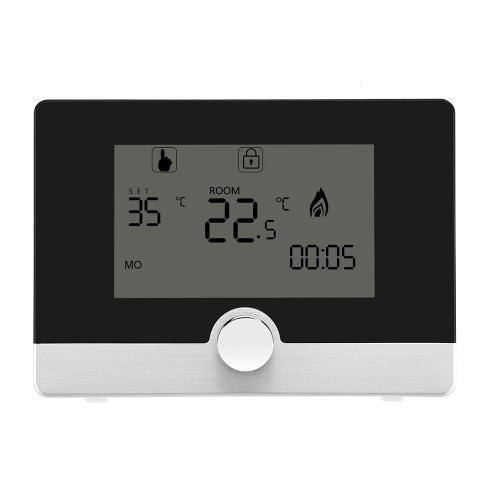 Dual Display LCD Room Temperature Controller Electric Heating Wall-hung Boiler Thermostat Intelligent Temperature Control Regulator
