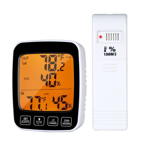 Digital Temperature & Humidity Meter Thermo-hygrometer °C/°F Thermometer Hygrometer