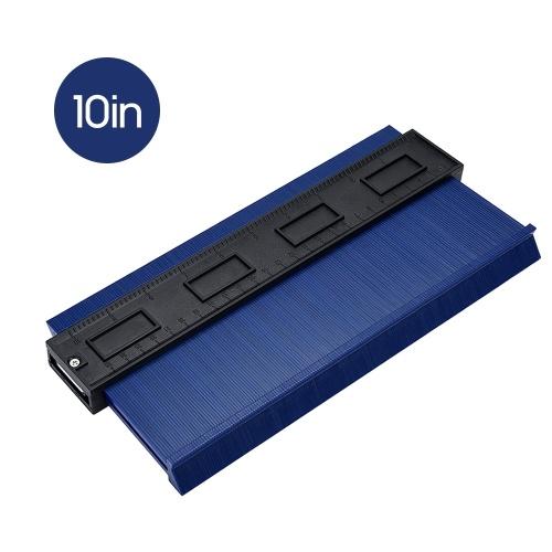 10in Widened Contour Gauge Duplicator Universal Woodworking Tiling Laminate Measure Tool Precisely Fast Copy Irregular Shapes Profile Gauge