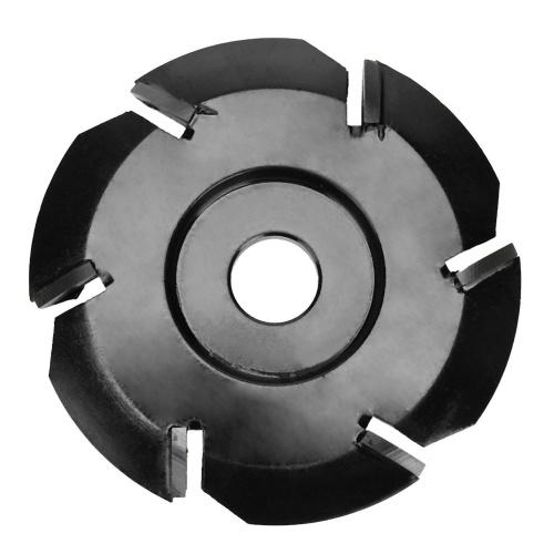 Taglierina per utensili a disco per scavo in legno a 6 denti