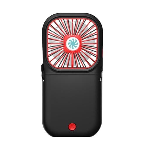 Ventilatore ricaricabile portatile a basso rumore a ventaglio pieghevole