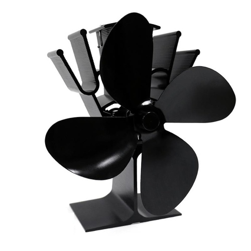 4-Blade Heat Powered Stoves Fan