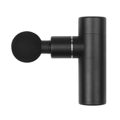 Mini massageador de músculo de carregamento USB elétrico de fáscia pistola de alumínio