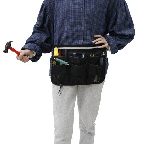 Multifunctional Waterproof Wear-resistant Maintenance and Construction Toolkit Waist Bag with Detachable Belt