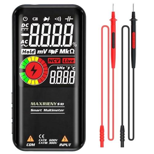 MAXRIENY S10 Многофункциональный мультиметр с ЖК-дисплеем 3,3 дюйма (без батареи)
