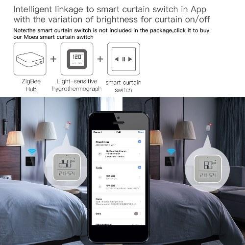 Tuya ZigBee 3 In 1 Light/Temperature/Humidity  Home Sensors