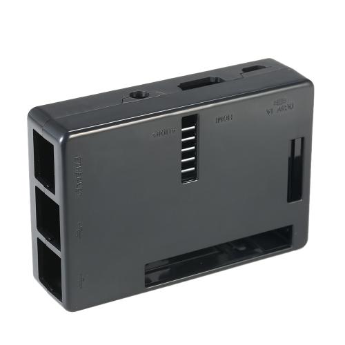 Custodia protettiva per Raspberry Pi 2 Pi 3 Modello B & Pi Modello B + con 2 dissipatori di calore