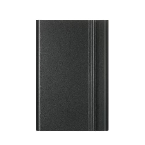 Caixa de proteção de liga de alumínio Caixa de caixa de invólucro para framboesa Pi 3, Pi 2 e B + com ventilador de resfriamento