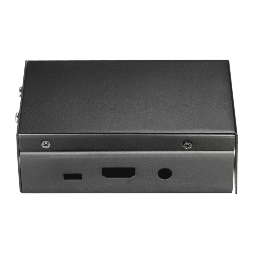 Caixa de metal de alumínio com caixa de tampa protetora shell ventilador de refrigeração para Raspberry Pi 3 Raspberry Pi 2 e B +