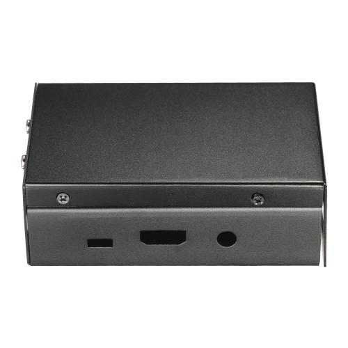 Caja metálica de aluminio con ventilador Caja protectora de cubierta Shell para Raspberry Pi 3 Raspberry Pi 2 y B +