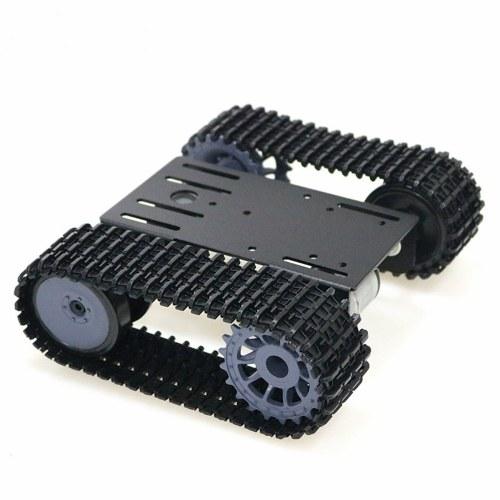 Гусеничный робот Smart Car Platform Комплекты робототехники Робот-гусеничный бак Шасси DIY Kit Твердый робот-платформа Танк Мобильная платформа Роботизированная игрушка Платформа для Arduino фото