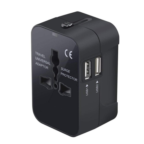 Mini Size Lightweight Portable Universal Travel Adapter 110-240V 2.1A International Power Adapters