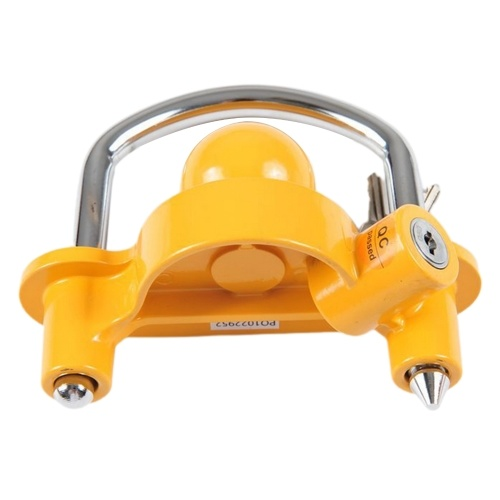 Heavy Duty Universal Coupler Hitch Trailer Lock Fits 1-7/8'', 2'', And 2-5/16''
