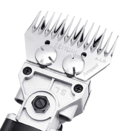 320W Electric Sheep Shearing Clipper Tijeras Tijeras Cortador Goat Clipper 4 dientes / 13 dientes Hoja de afeitado Máquina de lana Máquina de afeitar de lana