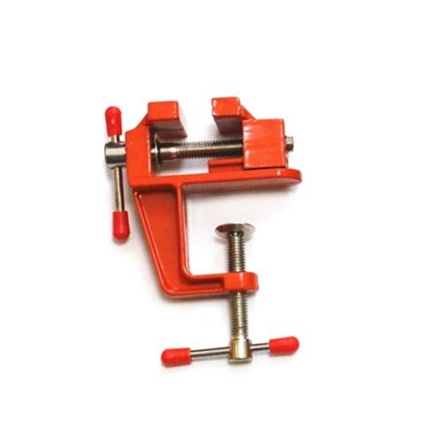 Mini strumento multifunzione in alluminio con morsetto per hobby in miniatura sul tavolo