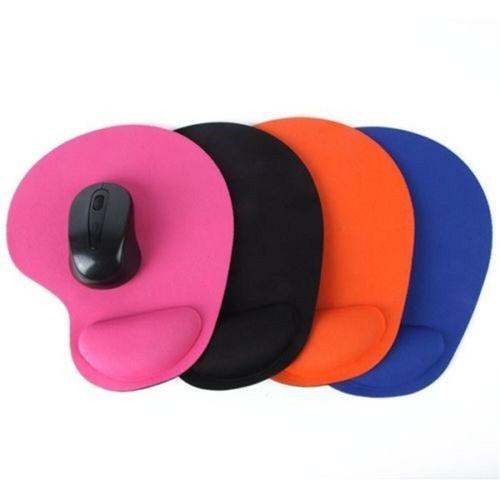 Эргономичный комфорт на запястье коврик для мыши, коврик для мыши, компьютерный ноутбук, не скользит, оранжевый фото