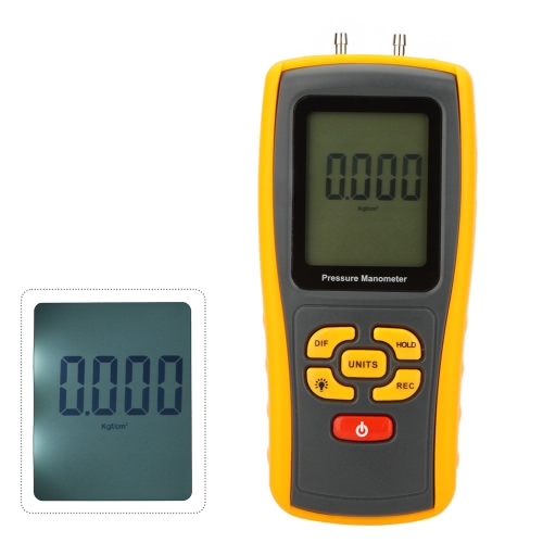 GM510 Portátil USB Digital LCD Pressure Manometer