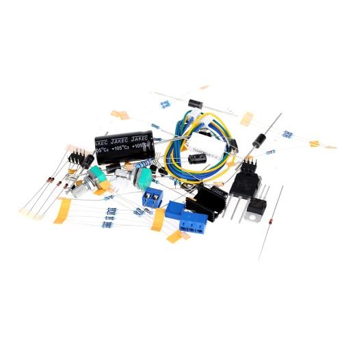 Red 0-30V 2mA-3A Adjustable DC Regulated Power Supply Board DIY Kit RR