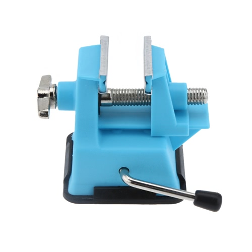 KKmoon PD-372 Mini Vise Bench Working Table Vice Bench for DIY Jewelry Craft Mould Fixed Repair Tool (Jaw opening 25mm)