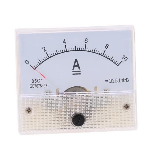 DC0 10 a アナログ現在パネル メーター テスター電流計ゲージ