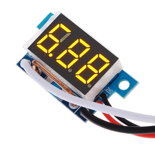 DC0-9.99A Digital Current Display Module LED Panel Meter Ammeter Gauge Red