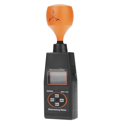 Portable Professional Digital LCD Field Intensity Meter Indicator of High Frequency EMF829