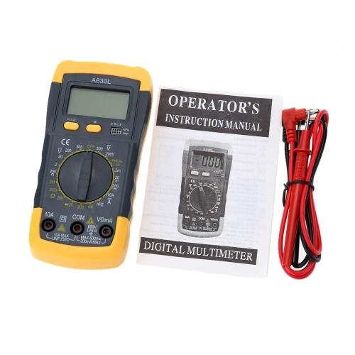 A830L Mini 31/2 Digital Multimeter