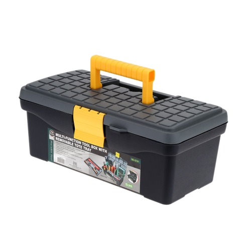 Pro's Kit Multifunctional Removable Double Layer Repair Tools Storage Case Box Tote Tray