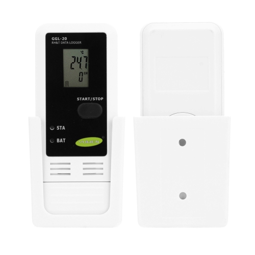 Mini Portable USB LCD Digital Temperature Humidity Data Recording Logger Meter Thermometer Hygrometer PC Connecting