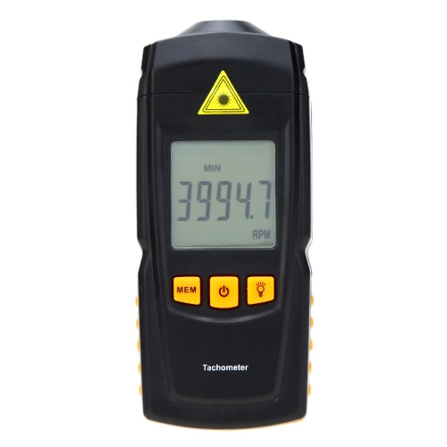 Non-contact GM8905 Digital Laser Tachometer T