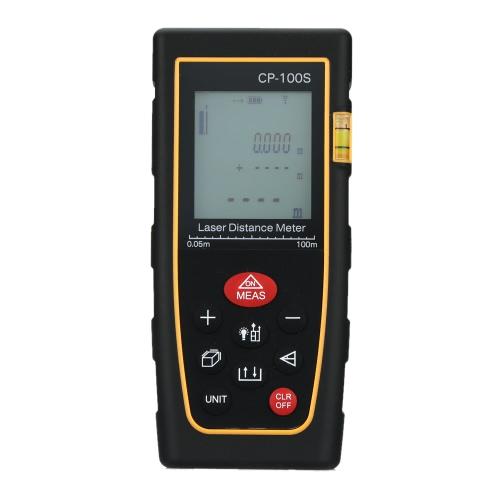 Herramienta de Diastimeter superficie/volumen medida láser portátil Digital distancia metro de gama buscador de 100m