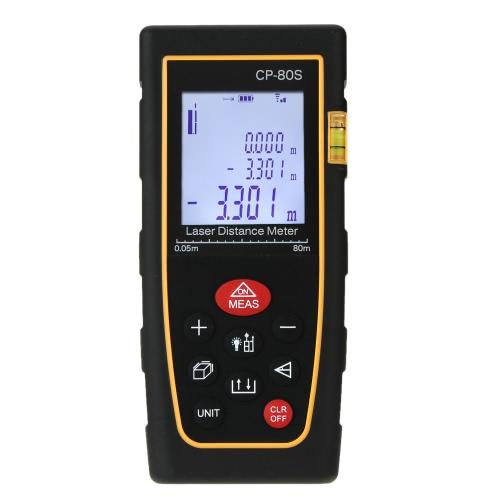 100m Digital Handheld Laser Distance Meter Range Finder Measure Diastimeter Area/Volume Tool